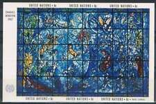 United Nations - New York postfris 1967 MNH blok 4 - Glas in Lood van Chagall