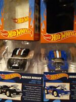 Hot Wheels The Loyal Subjects Wave 2 Blue &  Black Rodger Dodger - New