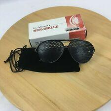 Vintage Friedrich Mueller Kur-Brille Therapeutic Pinhole Sunglasses Dr Petersons
