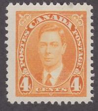 Canada 1937 #234 King George VI MUFTI Issue MNH F