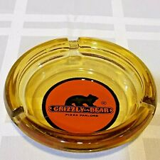 Vintage Grizzly Bear Pizza Parlor Ashtray