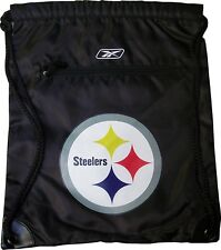 Pittsburgh Steelers NFL Reebok Drawstring Backpack Bag