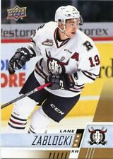 17/18 UPPER DECK CHL #196 LANE ZABLOCKI RED DEER REBELS *48732