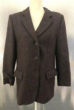 Marina Rinaldi Basic Womens Sz S (21) Multicolor Italy Lined Wool Blazer Jacket