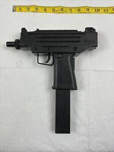 Vintage Larami Motorised UZI Water Squirt Gun Machine Pistol 1987  Tested WORKS