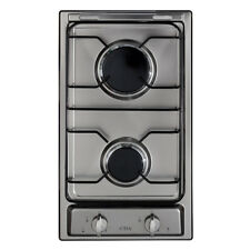 CDA HCG301SS Stainless Steel Two Burner Domino Gas Hob