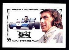 Jackie Stewart Autogrammkarte Formel 1 + A 127900 D