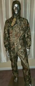 BROWNING Men's A-TACS CAMO HUNTERS OUTFIT  2XL Jacket/ Pants 40 waist.