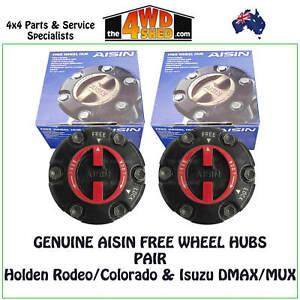 AISIN Manual Free Wheel Hub PAIR suit Colorado Rodeo DMAX - FHG-001