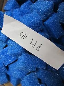 Filterwürfel   für Biofilter blau  PPI 10 90 Liter  ( 0,28 Euro Liter )