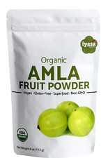 Amla Powder Certified Organic Amalaki  Indian Gooseberry 4,8 oz,1lb FastShipping