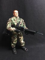 "US ARMY Paratrooper GI JOE by Hasbro 12"" Inch 1:6 Scale Action Figure War Toy"