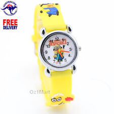 MINION Silicone Unisex Watch Children Kids Students Cartoon Watches