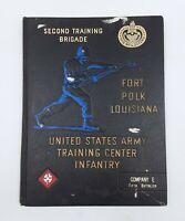 Genuine Vietnam Era Training Brigade Book 1968 Company E 5TH Battalion Fort Polk