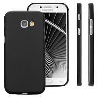 Samsung Galaxy A3 (2017) Protective TPU funda de silicona de gel cover case Negr
