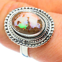 Ethiopian Opal 925 Sterling Silver Ring Size 8.5 Ana Co Jewelry R50434F