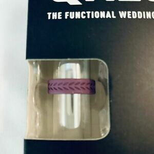 QALO Women's Silicone Functional Wedding Rings Asst Colors / Sizes