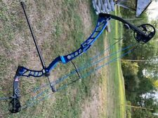 +2015 Elite Victory Compound Bow - Right Hand in beautiful Blue Riser