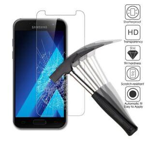 Film Vitre Verre Trempé Protection d'écran Samsung galaxy A5/A6/plus/A8 2018