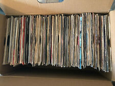 A BOX FULL OF OVER 150 - 7INCH SINGLE RECORDS - THIS IS BOX 6