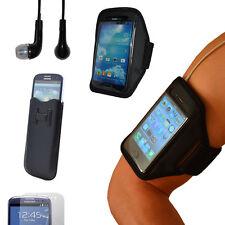 Samsung Galaxy s4 s3 Sport pulsera fitness aerobic móvil cartera case auriculares
