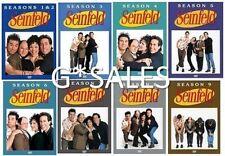 Seinfeld ~ Complete Series Season 1-9 (1 2 3 4 5 6 7 8 & 9) ~ BRAND NEW DVD SETS