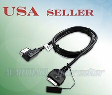 2009&Up Mercedes-Benz Media Interface System to iPod iPhone ADAPTER 4ft Benz-IP