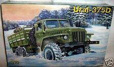 ZV models 1/72 URAL 375D MILITARY CARGO CARRIER TRUCK