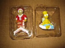 THE SIMPSONS Ornament ANGEL BART SIMPSON HOMER SANTA CHIMNEY CHRISTMAS HOLIDAY