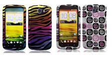 Hard Design Protector Cover Phone Case for HTC One S Z520e Z560e / VILLE