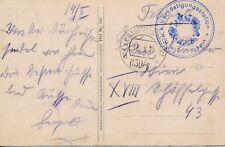 Nr 14635  PK K.u.K Feldpost 630/II Verköstigungsstation Salzburg 1916