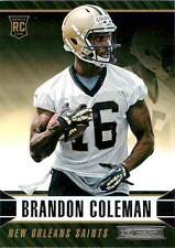 2014 PANINI R&S BRANDON COLEMAN ROOKIE - NEW ORLEANS SAINTS  CARD #113 - RUTGERS