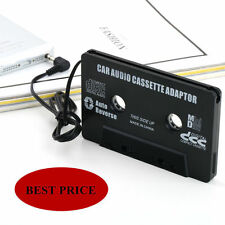 Audio Cassette Tape Adapter Aux Cable Cord 3.5mm Jack fr to MP3 iPod CD Player @