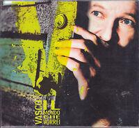CD ♫ Compact disc VASCO ROSSI ♪ IL MONDO CHE VORREI nuovo digibook slipcase