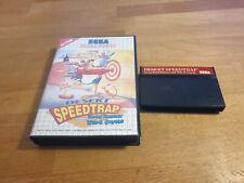 Desert Speedtrap Sega Master System OVP Boxed