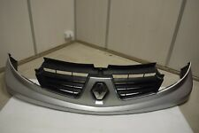 RENAULT TRAFIC FRONT UPPER BUMPER & GRILL IN SILVER COLOR 2007-2014