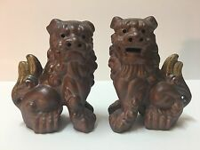 Pair of Chinese Foo Dog Statues