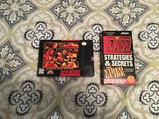 WWF Raw SNES and Secrets VHS, Used
