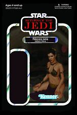 Star Wars Return of the Jedi Princess Leia Slave Outfit Cardback