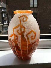 Vase Le Verre Français - Charder (Art Déco)