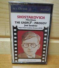 vintage 1987   SHOSTAKOVICH film music THE GADFLY  PIROGOV  Cassette  New sealed