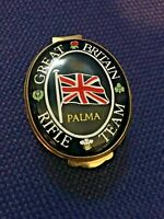 Crummles Enamels 'Great Britain Rifle Team' Pill Box - Palma 1995