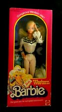 Vintage 1980 BARBIE DOLL WESTERN 1750  Autograph Wink NOS New Old Stock