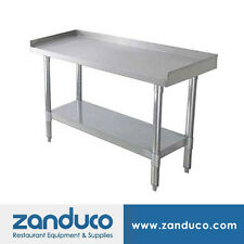 "Zanduco Stainless Steel 30"" X 48"" Commercial Equipment Stand and Undershelf Nsf"