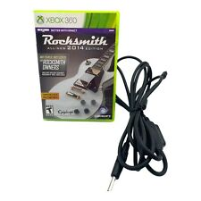 XBOX 360 Rocksmith with Real Tone Cable 2014 Edition FAST SHIPPING!