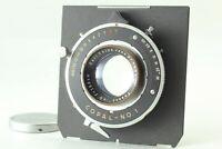 [Exc+5] Carl Zeiss Jena Tessar 13.5cm 135mm F4.5 Lens Copal Shutter Japan A02