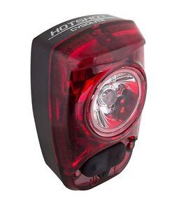 Cygolite Hotshot SL 50 Rear Bike Safety Light USB Rechargeable Flashing Red LED