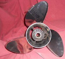 OMC Viper 14 3/4 x 17 Stainless Steel Propeller For Volvo SX & Cobra SX (157-15)
