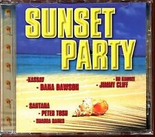 SUNSET PARTY - REGGAE SOLEIL 80'S - CD COMPILATION [2124]
