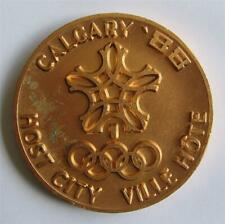 Rare Host City Medal Calgary 1988 Winter Olympic Games - Only 100 minted!